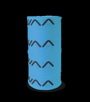 SCARF MULTIFONCTION CYAN BLUE