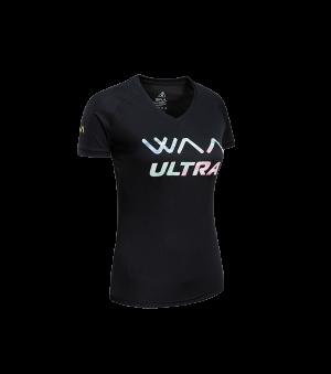 ULTRA LIGHT T-SHIRT 3.0 FEMME-Black Rainbow-XL