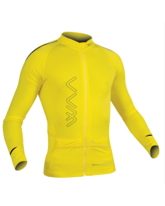 ULTRA CARRIER SHIRT MANCHES LONGUES HOMME JAUNE 2.0 T.XS