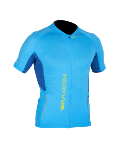 ULTRA CARRIER HOMME MANCHES COURTES 2019 CYAN BLUE T.S