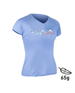 ULTRA LIGHT T-SHIRT FEMME LOGO MULTICOLORE