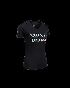 ULTRA LIGHT T-SHIRT 3.0 FEMME-Black Rainbow-L
